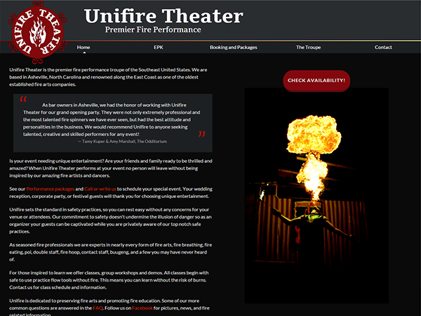Unifire Theater Project Image